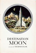 "Movie Posters:Science Fiction, Destination Moon (Pathé, 1950). Pressbook (30 Pages, 13.5"" X 20"")....."