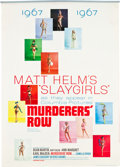 "Movie Posters:Action, Murderers' Row (Columbia, 1967). Matt Helm ""Slaygirls"" Calendar (12 Pages, 16.5"" X 23.5""). Action.. ..."