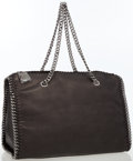 Luxury Accessories:Bags, Stella McCartney Black Vegan Leather Falabella Shoulder Bag . ...