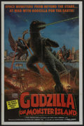 "Movie Posters:Science Fiction, Godzilla on Monster Island (Toho, 1972). One Sheet (27"" X 41""). Science Fiction. ..."