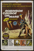 """Movie Posters:Science Fiction, Robinson Crusoe On Mars (Paramount, 1964). One Sheet (27"""" X 41""""). Science Fiction. ..."""