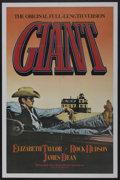 "Movie Posters:Drama, Giant (Kino International, R-1982). One Sheet (27"" X 41""). Drama. ..."
