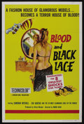 "Movie Posters:Horror, Blood and Black Lace (Allied Artists, 1964). One Sheet (27"" X 41"") and Pressbook (4 pages, 14"" X 19""). Horror. ... (Total: 2 Items)"