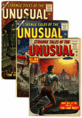 Golden Age (1938-1955):Horror, Strange Tales of the Unusual #4, 9, and 11 Group (Atlas, 1956-57).... (Total: 3 Comic Books)