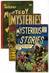 Horror and Mystery Pre-Code Group (Various, 1952-55) .... (Total: 4 Comic Books)