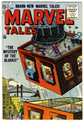 Golden Age (1938-1955):Science Fiction, Marvel Tales #136 (Atlas, 1955) Condition: FN....