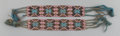 American Indian Art:Beadwork and Quillwork, A PAIR OF POTAWATOMI LOOM-BEADED GARTERS... (Total: 2 Items)