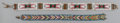 American Indian Art:Beadwork and Quillwork, TWO PLATEAU BEADED BELTS... (Total: 2 Items)