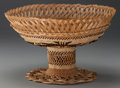 American Indian Art:Baskets, A NORTHERN CALIFORNIA TWINED BOWL. c. 1920...