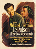 "Movie Posters:Academy Award Winners, The Lost Weekend (Paramount, 1945). French Grande (46"" X 62.25"")....."