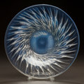 Art Glass:Lalique, R. LALIQUE OPALESCENT GLASS ALGUES COUPE. Circa 1933.Stenciled R. LALIQUE, FRANCE. M p. 308, No. 10-390. Di...