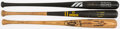 Baseball Collectibles:Bats, 1980's Collection of Game Used & Signed Bats. ...