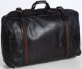 Luxury Accessories:Travel/Trunks, Gucci Black Leather Travel Bag. ...