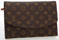 Luxury Accessories:Bags, Louis Vuitton Classic Monogram Canvas Pouch. ...
