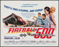"Movie Posters:Action, Fireball 500 (American International, 1966). Half Sheet (22"" X28""). Action.. ..."