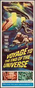 """Movie Posters:Science Fiction, Voyage to the End of the Universe (American International, 1964).Insert (14"""" X 36""""). Science Fiction.. ..."""