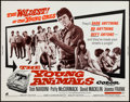 "Movie Posters:Exploitation, The Young Animals (American International, 1968). Half Sheet (22"" X28""). Exploitation.. ..."