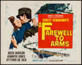 "Movie Posters:War, A Farewell to Arms & Others Lot (20th Century Fox, R-1963).Half Sheets (5) (22"" X 28"") Regular & Style B. War.. ...(Total: 5 Items)"