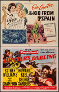 """Movie Posters:Musical, Jupiter's Darling & Others Lot (MGM, 1955). Half Sheets (6) (22"""" X 28""""). Musical.. ... (Total: 6 Items)"""