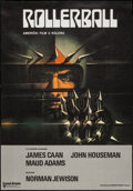 """Movie Posters:Science Fiction, Rollerball (United Artists, 1980s). Croatian Poster (19"""" X 27""""). Science Fiction.. ..."""