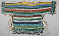 American Indian Art:Beadwork and Quillwork, A BLACKFEET WOMAN'S NET-BEADED SHIRT. c. 1930...
