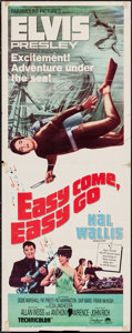 "Movie Posters:Elvis Presley, Easy Come, Easy Go (Paramount, 1967). Insert (14"" X 36""). ElvisPresley.. ..."