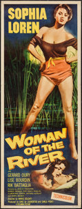 "Movie Posters:Foreign, Woman of the River (Columbia, 1957). Insert (14"" X 36""). Foreign.. ..."