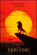 "Movie Posters:Animation, The Lion King (Buena Vista, 1994). One Sheet & International One Sheet (27"" X 40"") SS & DS Advance. Animation.. ... (Total: 2 Items)"