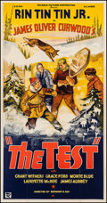 "Movie Posters:Adventure, The Test (Reliable, 1935). Three Sheet (41"" X 79""). Adventure.. ..."