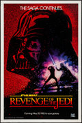 "Movie Posters:Science Fiction, Revenge of the Jedi (20th Century Fox, 1982). One Sheet (27"" X 41"")Advance Dated Style. Science Fiction.. ..."
