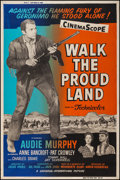 """Movie Posters:Western, Walk the Proud Land and Other Lot (Universal International, 1956). Silk Screen Posters (2) (40"""" X 60"""") Style Z. Western.. ... (Total: 2 Items)"""