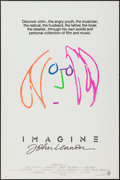 "Movie Posters:Rock and Roll, Imagine: John Lennon (Warner Brothers, 1988). One Sheet (27"" X40.5"") Pink Hair Style. Rock and Roll.. ..."