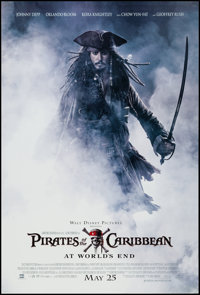 """Pirates of the Caribbean: At World's End (Buena Vista, 2007). One Sheet (27"""" X 40"""") DS Advance. Adventure"""
