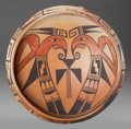 American Indian Art:Pottery, A HOPI POLYCHROME BOWL. Cora P. Andrews. c. 1945...
