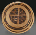 American Indian Art:Pottery, A JEDDITO POLYCHROME BOWL. c. 1200 - 1300 AD...