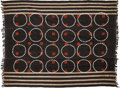 Tribal Art, Naga (Northeastern India). Two ceremonial textiles. Woven cloth,cowrie shells. Dimensions: 55 x 43 ½ and 60 x 42 inch... (Total: 2Items)