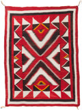 American Indian Art:Weavings, A NAVAJO REGIONAL RUG. Red Mesa. c. 1930. ...