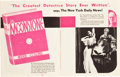 "Movie Posters:Miscellaneous, Monogram Exhibitor Book (Monogram, 1933-1934). Exhibitor Book(Multiple Pages, 11"" X 14"").. ..."