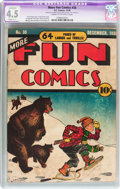 Golden Age (1938-1955):Miscellaneous, More Fun Comics #38 (DC, 1938) CGC Apparent VG+ 4.5 Slight (C-1) Cream to off-white pages....