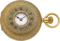 Timepieces:Pocket (pre 1900) , Patek Philippe Lady's 32 mm Gold Demi-Hunter, circa 1883. ...
