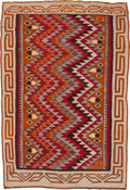 Other, A NAVAJO REGIONAL RUG. Red Mesa. c. 1930...