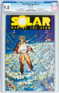 Modern Age (1980-Present):Superhero, Solar, Man of the Atom #1 (Valiant, 1991) CGC NM/MT 9.8 Whitepages....