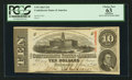 Confederate Notes:1863 Issues, T59 $10 1863 PF-11 Cr. 429.. ...