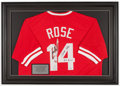 Baseball Collectibles:Uniforms, 2000's Pete Rose Signed Cincinnati Reds Photo Jersey. ...