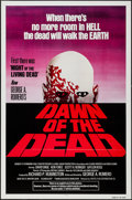 """Movie Posters:Horror, Dawn of the Dead (United Film Distribution, 1978). One Sheet (27"""" X 41"""") Flat Folded Red Style. Horror.. ..."""