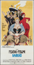 "Movie Posters:Foreign, Amarcord (Warner Brothers, 1974). International Three Sheet (41"" X 77""). Foreign.. ..."