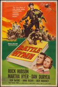 "Movie Posters:War, Battle Hymn & Other Lot (Universal International, 1957).Posters (2) (40"" X 60"") Style Y. War.. ... (Total: 2 Items)"