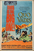 "Movie Posters:Historical Drama, Quo Vadis (MGM, R-1964). Poster (40"" X 60""). Historical Drama.. ..."