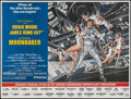 "Movie Posters:James Bond, Moonraker (United Artists, 1979). Subway (45"" X 59.5"") Advance.James Bond.. ..."