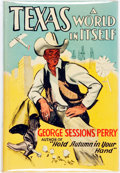 Books:Americana & American History, [Texana] George Sessions Perry. INSCRIBED. Texas. A World inItself. New York: Whittlesey House, [1942]. First editi...